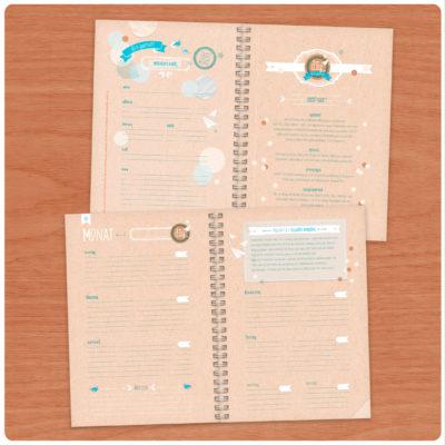 DIY DIARY Wochenplaner & Kreativer Kalender A5
