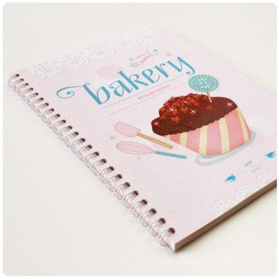 YUMMY BAKERY Rezeptbuch A5