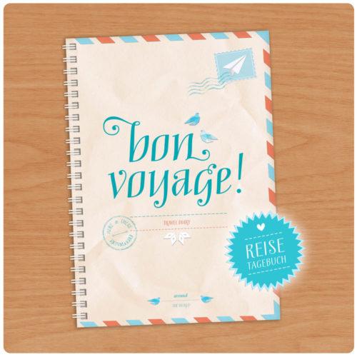 Bon Voyage Reisetagebuch A5 kaufen