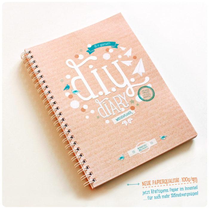 DIY Diary Wochenplaner & Kalender kaufen A5
