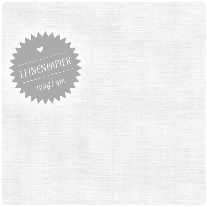 FSC-zertifiziertes Leinenpapier